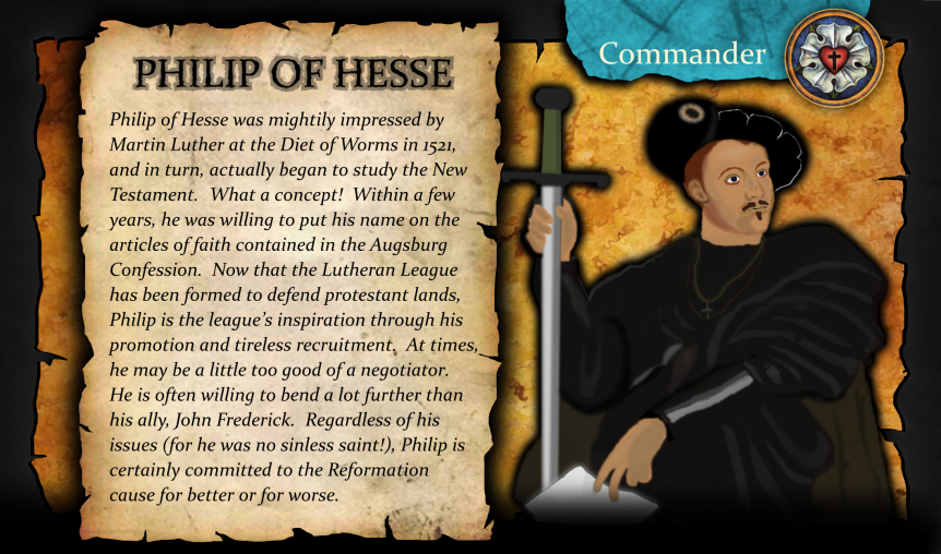 League of Confessors.Philip of Hesse